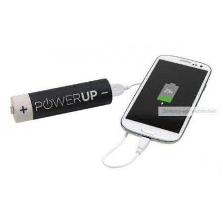 Powerbank 2600mAh, okos telefonhoz, iPhone-hoz,