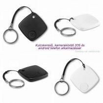 Kulcs-, telefonkereső, szelfi gomb