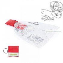 CPR maszk kulcstartóval