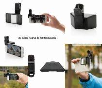3D lencse Android és iOS telefonokhoz