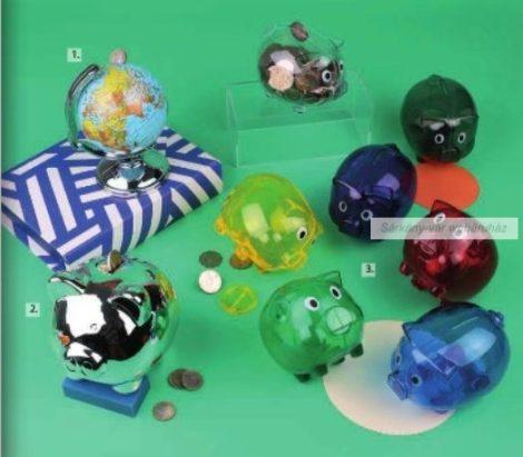 Malacpersely áttetsző műanyag