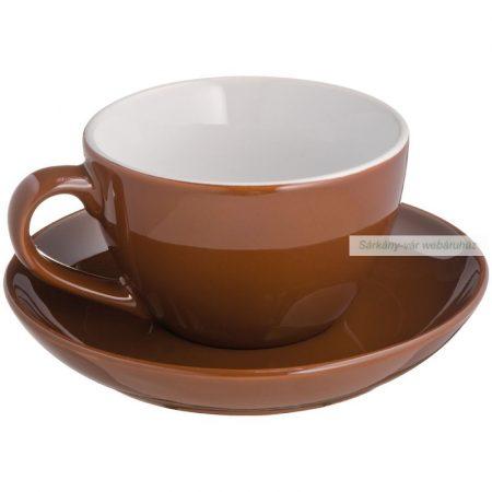 Capuccino csésze alátéttel