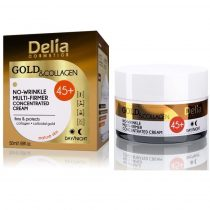 Delia Gold & Collagen ránctalanító krém 45+, 50 ml