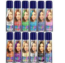 Hajszínező spray, 50 ml - 1 nap